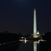 Super Moon over Washington DC - November 13, 2016