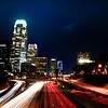 City Motion~<br /> <br /> 110 Freeway through Downtown L.A.<br /> Los Angeles, Ca.