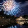 Disneyland Fireworks over the Rivers of America<br /> Anaheim, CA