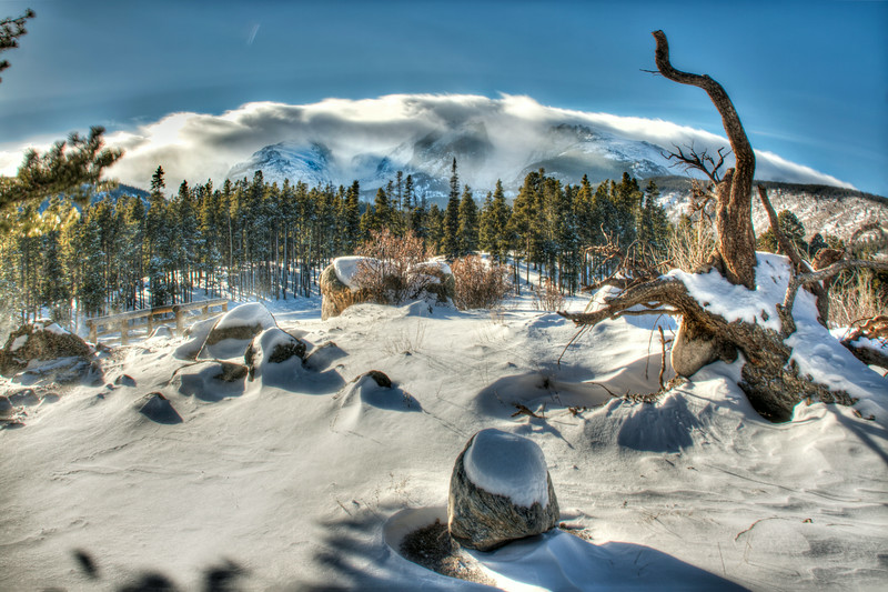 Sprague Lake Winter~ Rocky Mountain National Park