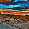 Sunset on the Rocks~<br /> <br /> Jumbo Rocks area of Joshua Tree National Park