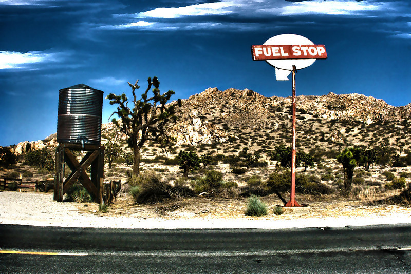 Desert Fuel Stop~<br /> <br /> Antelope Valley, Ca.