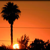 Little Red Sky in the Hood-<br /> <br /> A typically stunning Los Angeles sunset. <br /> Taken in Compton, CA.<br /> <br /> <br /> (*This image was featured on LAist.com 7-2012)