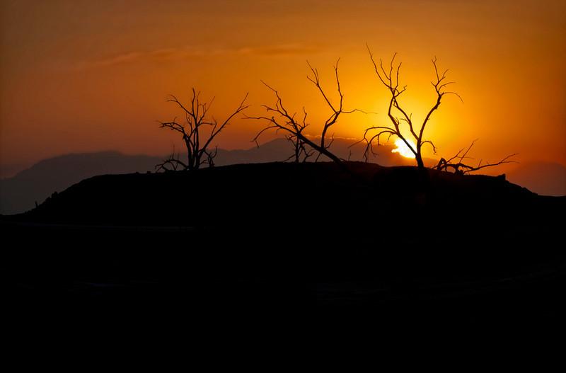Three Sister Silhouette~<br /> <br /> <br /> Redhiill Marina, Calipatria, CA<br /> Salton Sea