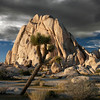 Mountain, Tree, Angry Sky~<br /> <br /> Hidden Valley Campground <br /> Joshua Tree National Park