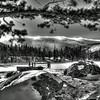 Sprague Lake Black & White~ Rocky Mountain National Park