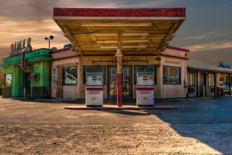 Gas Food Lodging~<br /> <br /> Four Aces, Lancaster/ Palmdale, CA.