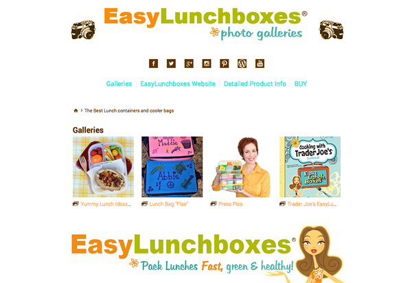 """<a href=""""http://easylunchboxes.smugmug.com/"""">http://easylunchboxes.smugmug.com/</a>"""