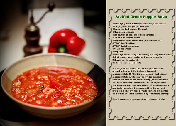 Pic and recipe by Downriver Photography