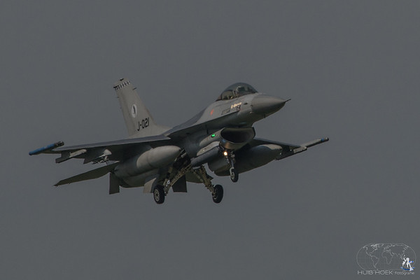 F-16AM Fighting Falcon - Serial: J-021 - Unit: 322 Squadron - Operated by Royal Netherlands Air Force