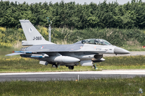 F-16BM Fighting Falcon - Serial: J-065 - Unit: 322 Squadron - Operated by Royal Netherlands Air Force