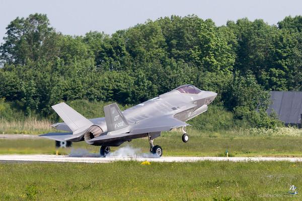 F-35A Lightning II F-002/OT 323 Squadron Royal Netherlands Air Force