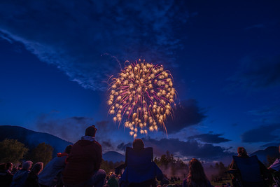 Ausable Club Fireworks