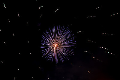 Winter Carnival Fireworks