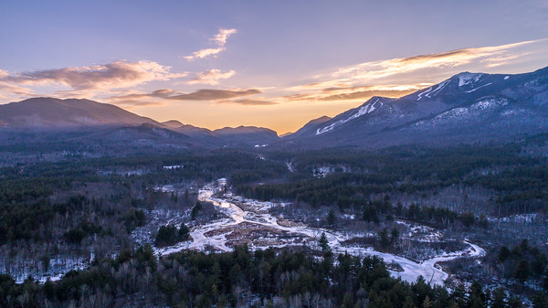West Branch Aerial Sunset