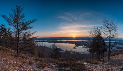 Coot Hill Sunrise