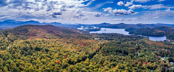 Dewey Mountain & Lower Saranac Lake