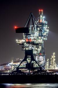 nachtje rotterdams haven