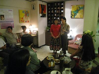 Seminar - Lucia's cafe Taipei
