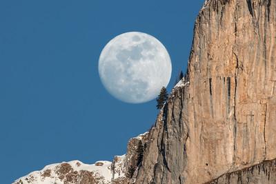 Vollmond am Spitzhorn