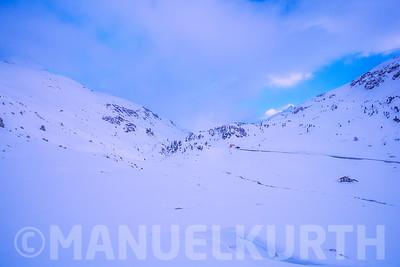 Winterstimmung bei Tschuggen
