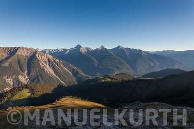 Blick auf die Bergüner Stöcke