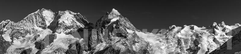 Piz Bernina und Sellagruppe