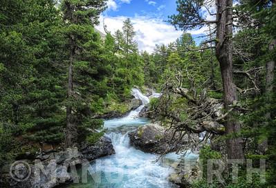 Cascata da Bernina