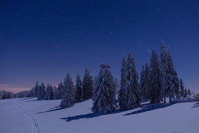 Nachthimmel am Grenchenberg