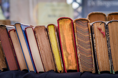Second hand hardcover books