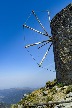 Antient Greek windmill