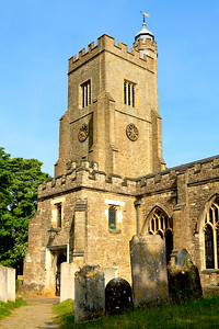 Typical English village church