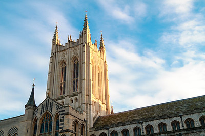 Bury St Edmunds cathedral tower