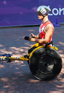 Marcel Hug Paralympics London