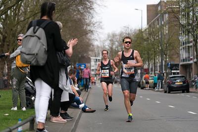Marathon runner s together