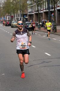 Marathon runner Pascal
