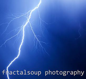 Dramatic Lightning Strike