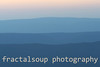 Evening Blue Ridge Mountains Create Colorful Palette