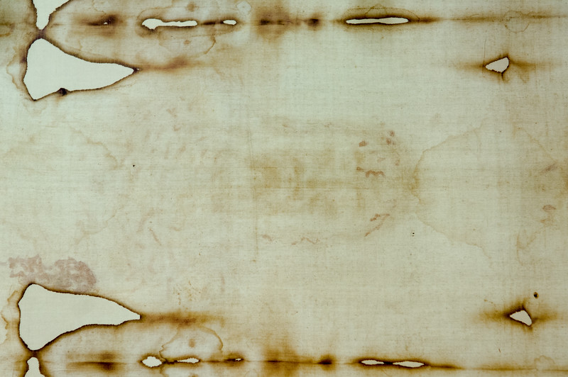 Turin, Italy. Santa Sindone (Shroud of Turin), a length of linen that for centuries was purported to be the burial garment of Jesus Christ. It has been preserved since 1578 in the royal chapel of the cathedral of San Giovanni Battista in Turin.