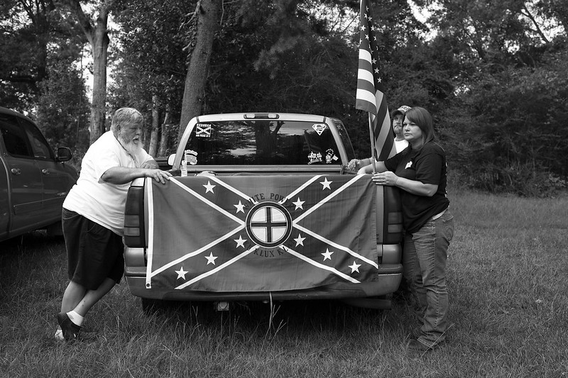 Three members of a Louisiana based Ku Klux Klan realm.