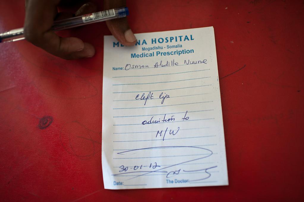 Medina Hospital. Mogadishu, Somalia.
