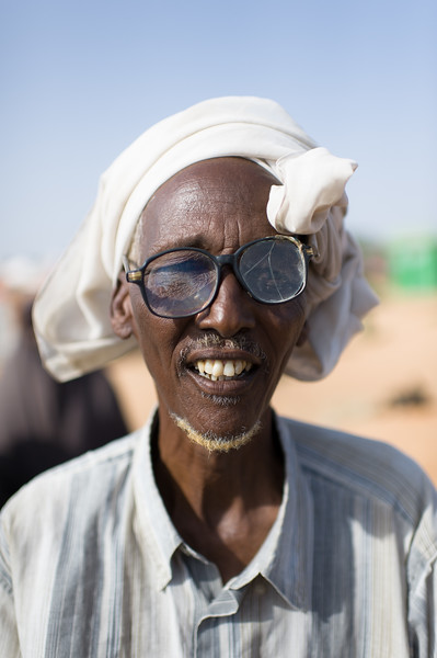 An internally displaced person at the Badbaado IDP Camp. The Badaado Camp is located in the Dharkenly District of Mogadishu and is also the cities largest.