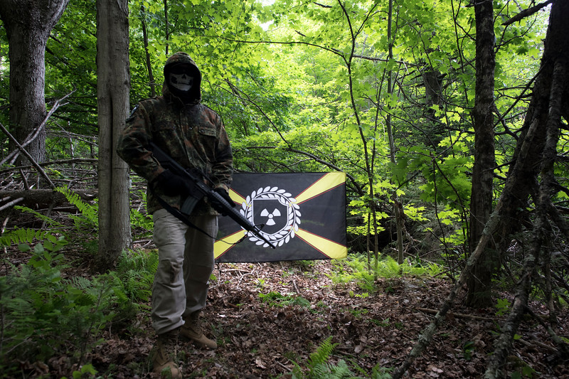 The Atomwaffen Division (AWD) was a small American Nazi group established by former Iron March social network users. The group was cast in the spotlight for several years for ongoing high-profile criminal activity.<br /> <br /> Atomwaffen members openly promised further violence and an upcoming race war. The organization was disbanded by James Nolan Mason on March 14, 2020, after the US State Department moved to have Atomwaffen designated as a foreign terrorist group.