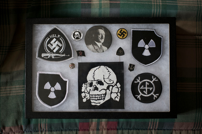 Various membership patches belonging to James Nolan Mason.