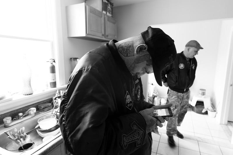 Philipsburg, NJ. Two founding members of Aryan Strikeforce.