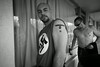 NSM (National Socialist Movement) members at a hotel a day prior to an orginized rally at the capital building in Washington, D.C. Maryland.