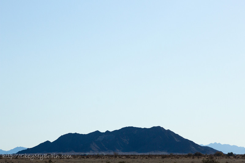 December 26, 2011 - Recreational<br /> <br /> Somewhere near Yuma, AZ