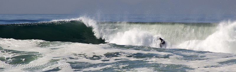 January 6, 2012<br /> <br /> Went to see the big waves today in La Jolla. They may have been twice this high 6 hours earlier.