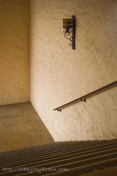 January 17, 2007<br /> <br /> Stairwell in Balboa Park