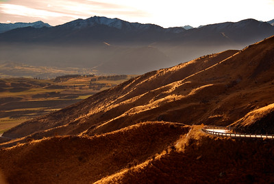 The Road Goes Ever On The Crown Range Queenstown